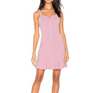 Lilac JOA Zipper front dress